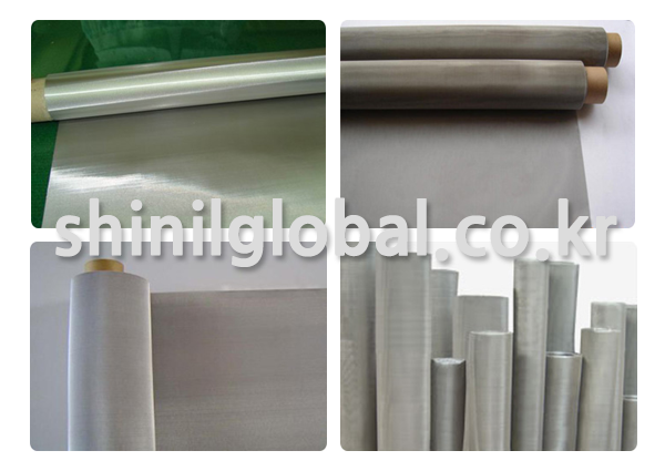 Metal Scrubbers and Kitchen Sponges for dish washing   SHINIL   PRECRIMPED WIRE MESH