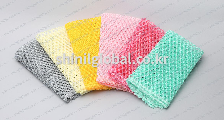 Metal Scrubbers and Kitchen Sponges for dish washing | SHINIL | Net Kitechen Sourer