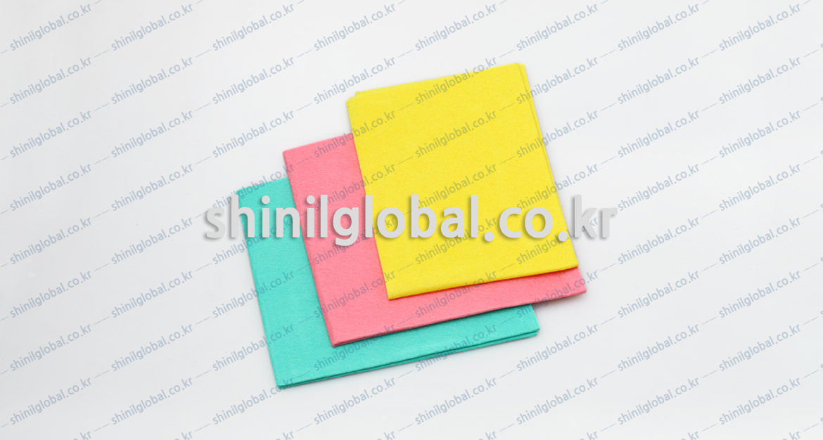 Metal Scrubbers and Kitchen Sponges for dish washing | SHINIL | NON-Woven cloth